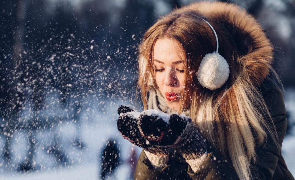foulard pesanti vacanze sulla neve