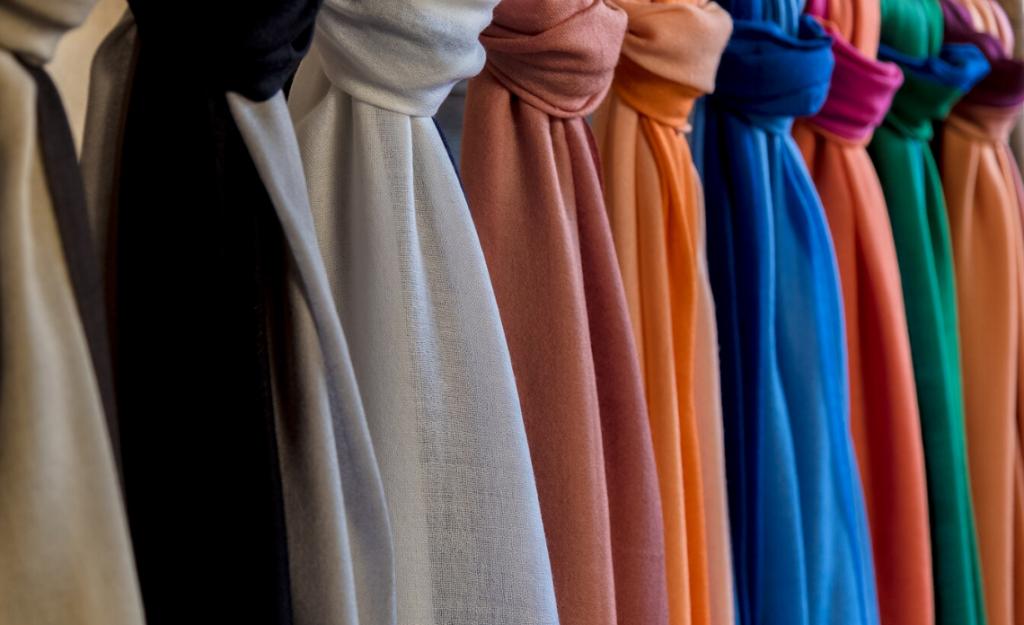 come si scrive foulard nel mondo