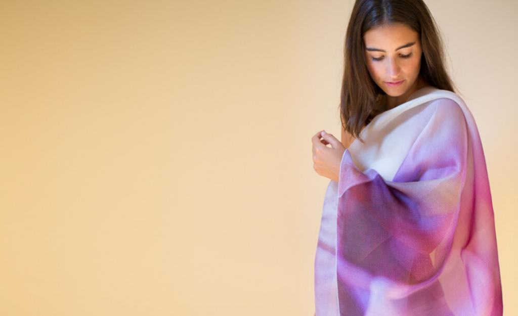 foulard personalizzati arja cajo con stampe fiori