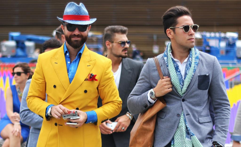 foulard maschile da uomo